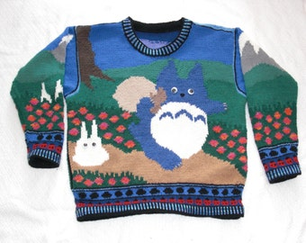 Knitting Pattern: Totoros Adult Small