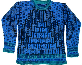Knitting Pattern: Math Size Seven Years