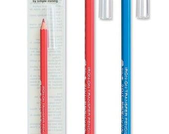 Clover Iron On Transfer Pencil Blue Part No. 5005