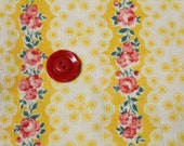 Reserved - Fat quarter size Vintage Feedsack Cotton Fabric -22