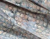 """108"""" Wide Backing Quilt Fabric  Batik Cotton Anthology Fabrics AF3390 HALF YARD (45 cm)"""