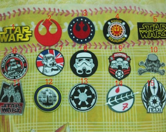 15 PCS STAR WARS Patch Badge