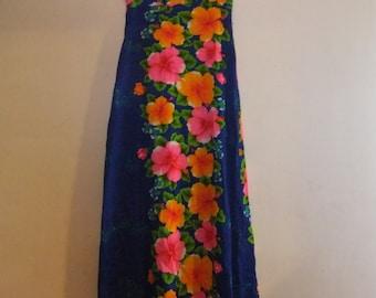 1950's Designer Hawaiian Dress