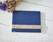 Handmade Wedding Guest Book, a Meaningful Keepsake Album - Velvet Book by Claire Magnolia