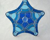 Diatom Stained Glass Suncatcher
