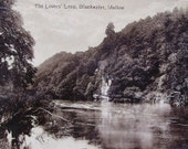 Lovers Leap, Blackwater, Mallow, Ireland -  Antique Postcard