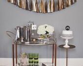 Art Deco Tassel Garland: Metallic