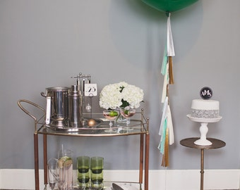 Balloon Tassels: Emerald