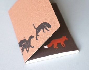 Hounds and Fox Notebook Journal