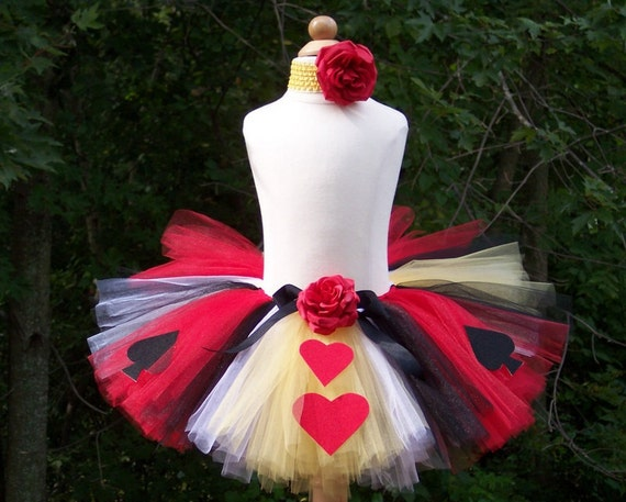Queen Of Hearts Costume Diy Tutu Unavailable Listing on...