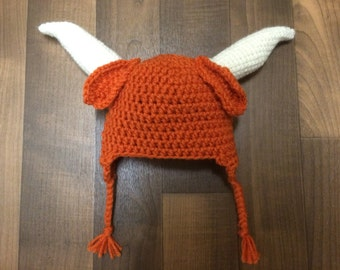 University of Texas Longhorns Beanie Pattern