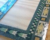 Pre-made NYC Subway Mosaic - Tile Install for Bathroom  /  Kitchen  /  Backsplash / Floor - New York City