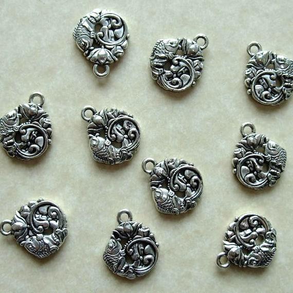 gold asian pendants