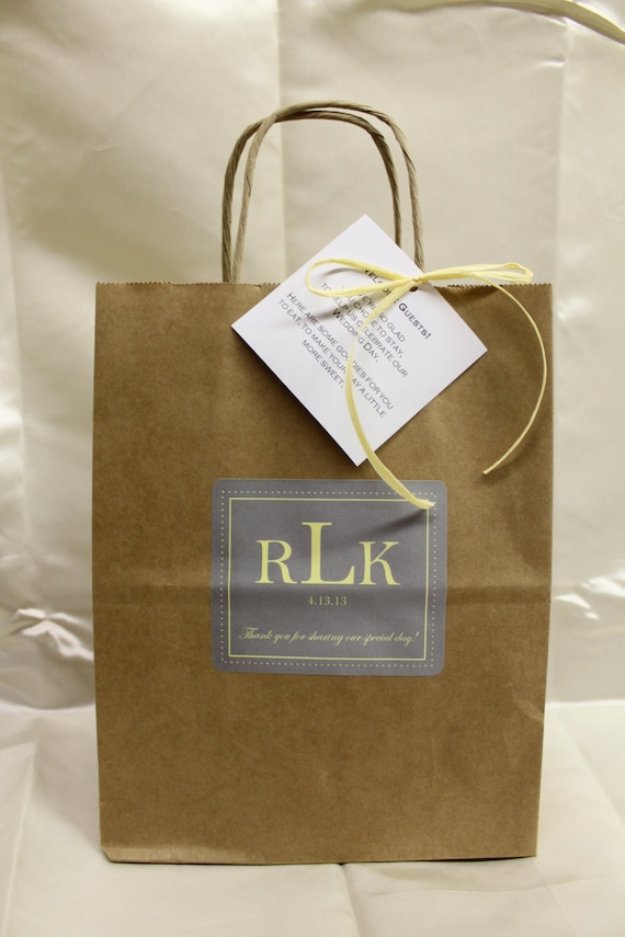 Wedding Gift Bag Itinerary : favorite favorited like this item add it to your favorites to revisit ...