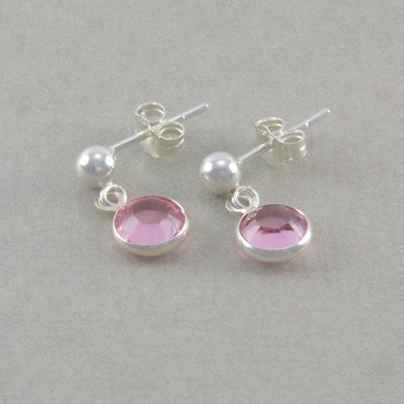 Pink Earrings For Girls Dangle Earrings little...