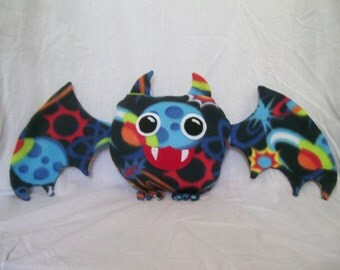 Customizable Bat Plush - choose your own colors and patterns