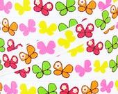 "3/8"" 9mm Social Butterfly 7100/17 c7 Grosgrain Ribbon 5 Yards"