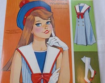 Vintage Paper Doll Dodi 1966