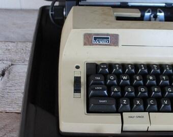 Vintage Montgomery Ward Portable Electric Typewriter