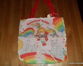 Rainbow Brite Tote Bag -- BLOWOUT SPECIAL