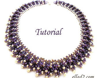 Tutorial Twin Choker - Beading Pattern, Pdf