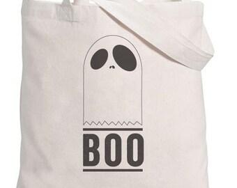 Halloween Tote // Boo Ghost - GC