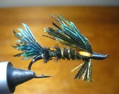 Peacock streamer fly for salmon
