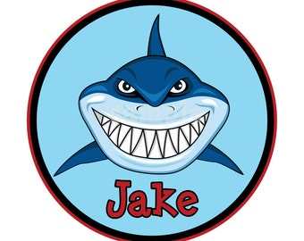 Personalized Shark T-Shirt Boy or Girl