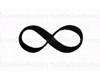 Infinity Symbol Embroidery Design Instant Download