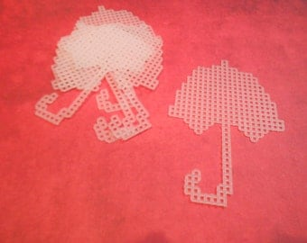 plastic canvas umbrella cutouts (set of 5)