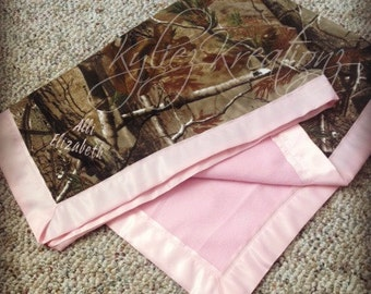 Hunting Camo Baby Blankets!