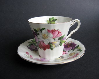 Adderley Floral Teacup