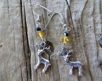 House Baratheon Game of Thrones Inspired Stag Earrings
