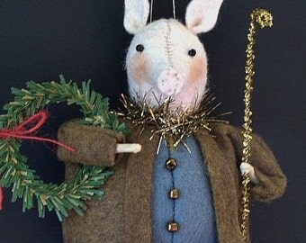 Pigling Bland E-PATTERN Beatrix Potter Ornament Collection by cheswickcompany