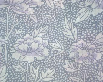 SALE : Kaffe Fassett Peony gray GP 17 Westminster Rowan Fabrics FQ or more  Rare
