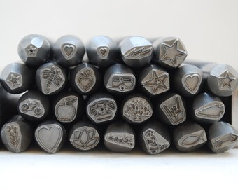 Pick 5 -Advantage Series Metal Stamp-Now PICK YOUR Size Professional Quality-Guaranteed on Stainless-Deep and Sharp Impression