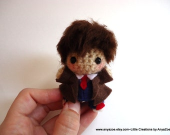 10th Doctor Amigurumi