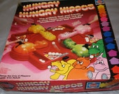Vintage Hungry Hungry Hippos Game