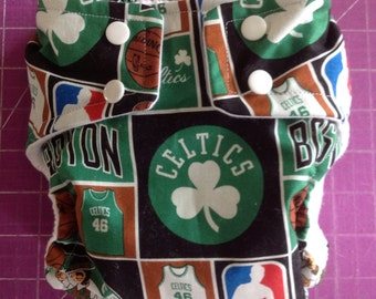 Boston Celtics Inspired Cloth Diapers/Diaper Cover