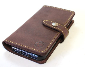 iPhone wallet with a silicon case in deep BURGUNDY (Free Personalization)