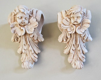 Popular items for cherub curtain on Etsy