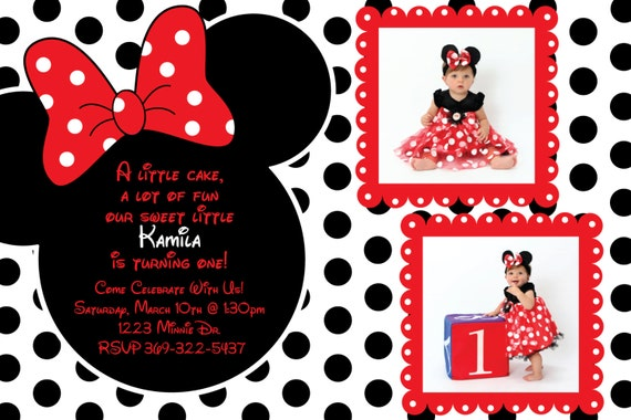 Red Dot Black Background Red And Black Polka Dot Minnie
