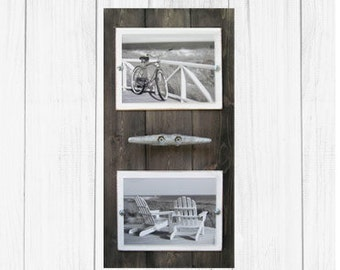 Double 5X7 Driftwood Cleat Frame