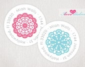 ON SALE - Doilies Return Address Labels