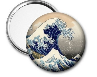 The Great Wave Pocket Mirror