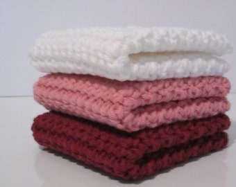 Dishcloth, Washcloth , Set of 3