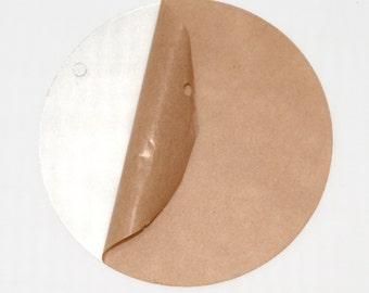 "Acrylic 3"" Circle Disc Clear Transparent perfect Pendant Bookbag Tag Earrings Vinyl Application Monogram Personalization"