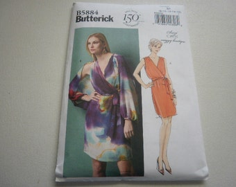 Pattern Ladies Dress 2 Styles Sizes 8 to 16 Butterick 5884