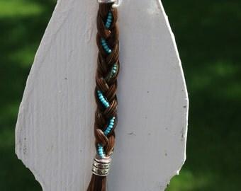 Custom Horse Hair Key Chain