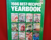 Better Homes & Gardens 1986 Best Recipes Yearbook 191 Pages  CB268